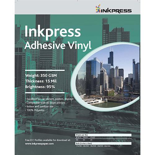 17X22 Adhesive Vinyl 20 Sheets/13Mil