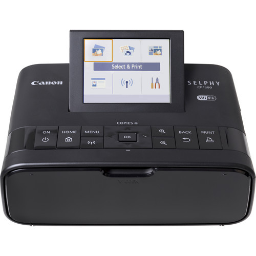 Canon SELPHY CP1300 Compact Photo Printer (Black)