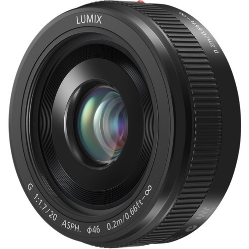 Pre-Owned Lumix G 20mm f/1.7 IASPH. M43 Lens (Black)