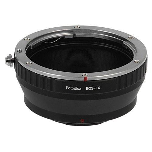 Fotodiox Lens Mount Adapter - Canon EOS (EF / EF-S) D/SLR Lens to Fujifilm Fuji X-Series Mirrorless Camera Body