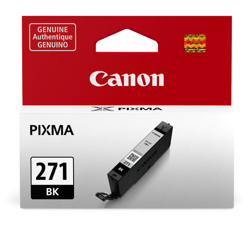 Canon  CLI-271 Black Ink Tank -For PIXMA MG5720, MG5721, MG5722, MG6820, MG6821, MG6822, MG7720, TS5020, TS6020, TS8020, and TS9020 Printers