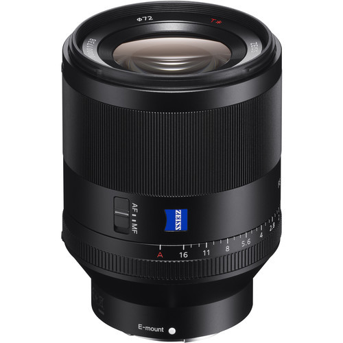 Sony FE 50mm f/1.4 ZA Planar T* Lens