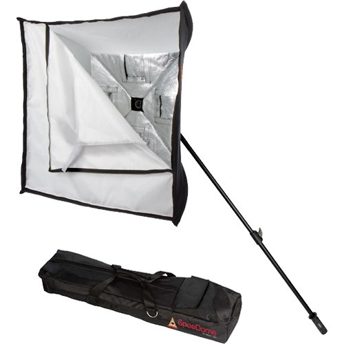 """Photoflex 28"""" Collapsible Softbox Kit for Speedlights/ LED"""