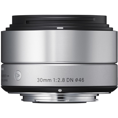 30mm F/2.8 DN Lens For Micro 4/3 Cameras (Silver)