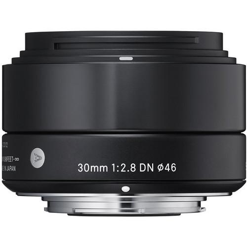 Sigma 30mm F/2.8 DN Lens For Sony E-Mount Cameras (Blk)