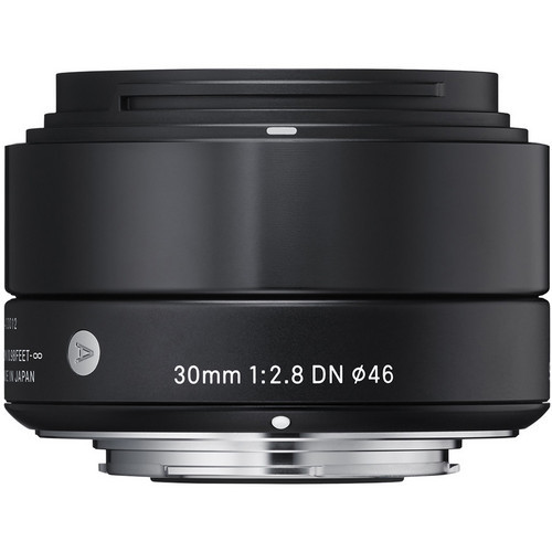 30mm F/2.8 DN Lens For Micro 4/3 Cameras (Black)