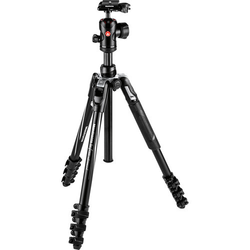 Manfrotto Befree Advanced Travel Aluminum Tripod with Ball Head (Lever Locks, Sony Alpha Edition)