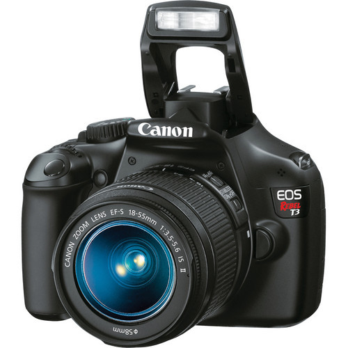 Pre-Owned - Canon RED Rebel T3 W/ EFS 18-55Mm IS