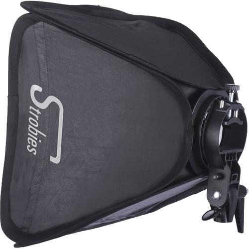 "Interfit Strobies S-Type Speedlight Bracket and Softbox Kit (31 x 31"")"