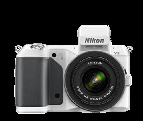 1 V2 Mirrorless Digital Camera Body (White)