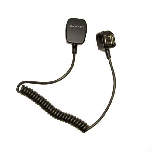 Promaster 6332 Deluxe TTL Off-Camera Remote Cord for Sony
