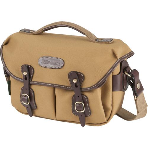 Billingham Hadley Small Pro Shoulder Bag (Khaki FibreNyte & Chocolate Leather)