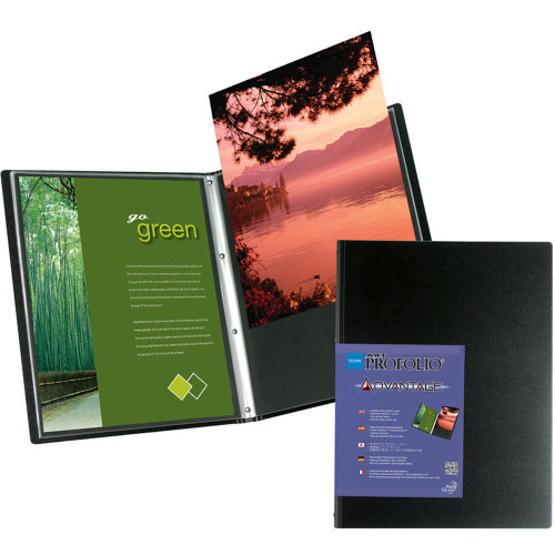 "13"" X 19"" Profolio Advantage Presentation Book"