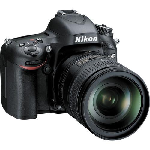 Nikon D610 DSLR Camera w/ 28-300mm VR Lens & Bag & 32GB SD card