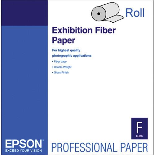 """Exhibition Fiber Paper For Inkjet (44"""" X 50' )"""