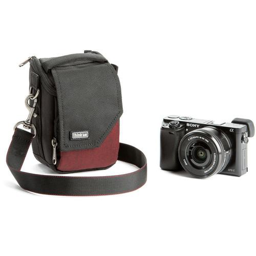 710650 Think Tank Photo Mirrorless Mover 5 Camera Bag (Deep Red)