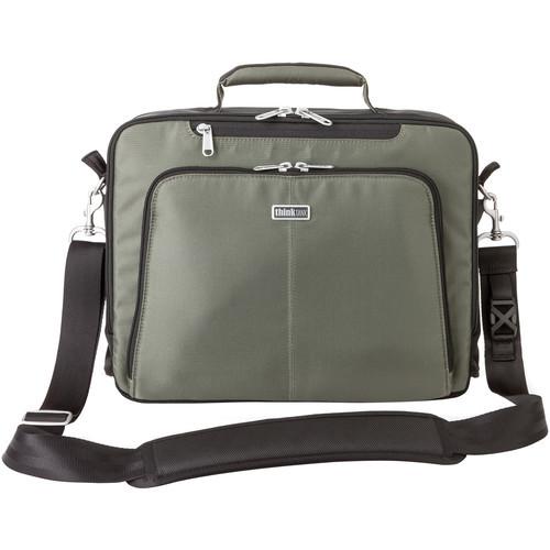 "612  Think Tank Photo My 2nd Brain Briefcase for 13"" Laptop (Mist Green)"