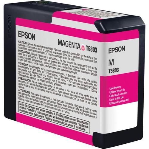 Epson UltraChrome K3 Ink For 3800 - Magenta (80 ml)