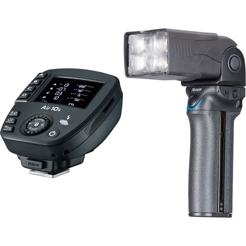 Nissin MG10 Wireless Flash with Air 10s Commander (4/3)
