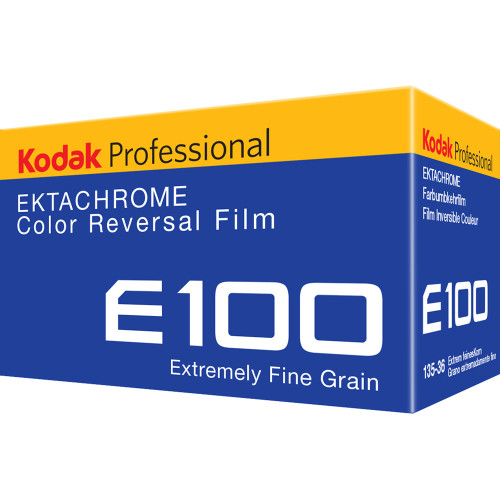 Kodak Professional Ektachrome E100 Color Transparency Film (35mm Roll Film, 36 Exposures)