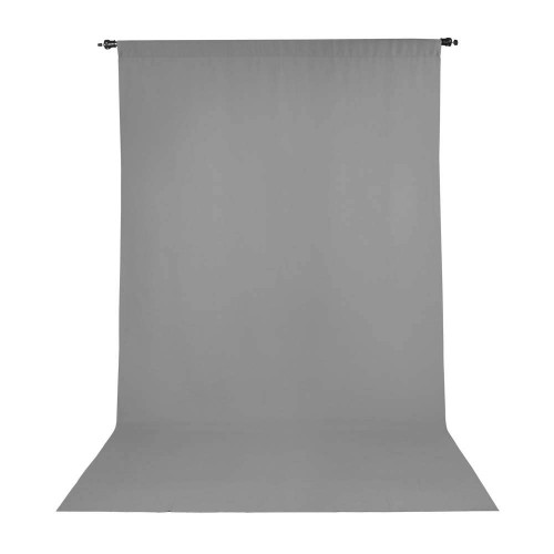Promaster Wrinkle Resistant Backdrop 10'x20' - Grey