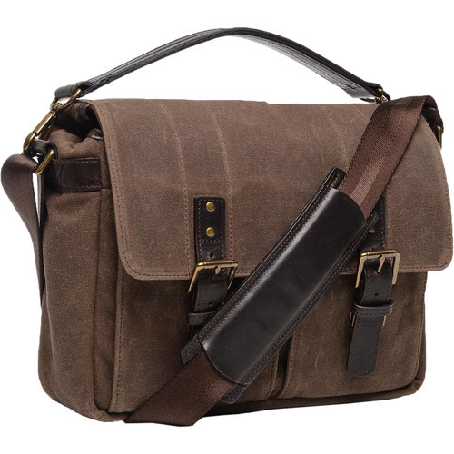 ONA Prince Street Camera Messenger Bag (Oak)