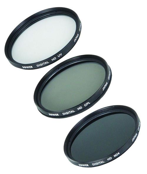 Bower 86mm Digital Filter Kit, UV, CPL and ND Filter