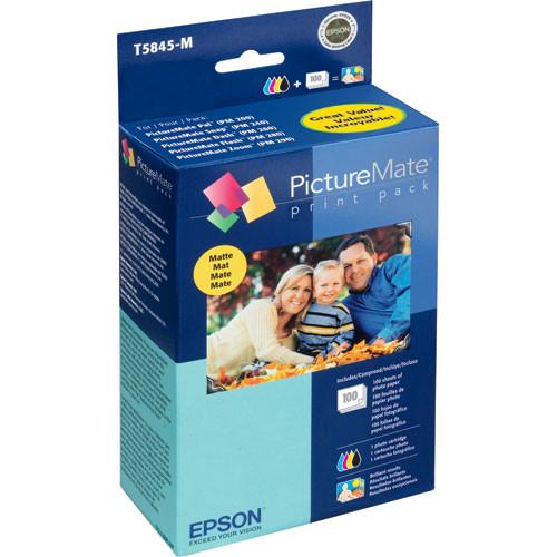 Picturemate 200-Series Matte Print Pack -100
