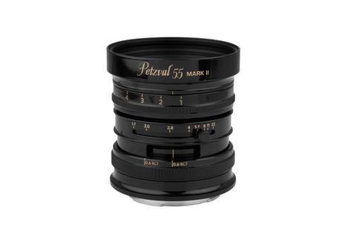 Lomography Petzval 55 mm f/1.7 MKII Black Brass F/ Sony E-Mount