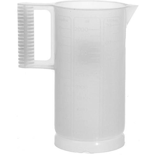 Paterson Plastic Beaker (Ounce and Metric Graduations)- 64-oz