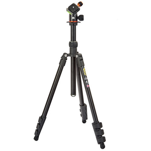 3 Legged Thing Punks Anarchy Patti Tripod with AirHed Mini Ball Head (Matte Black and Black with British Racing Green Accents)