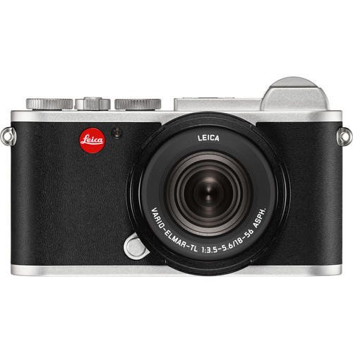 Leica CL Mirrorless Digital Camera with 18-56mm Lens (Silver Anodized)