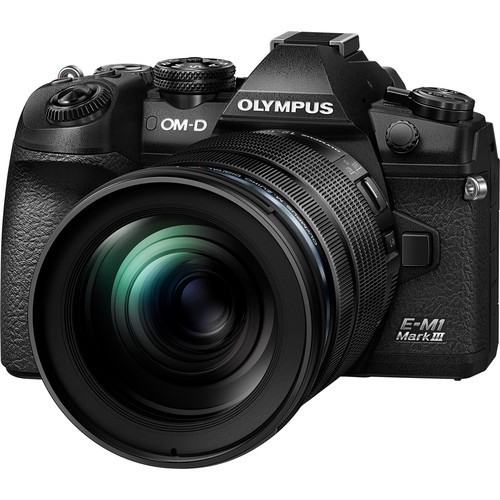 Olympus OM-D E-M1 Mark III Mirrorless Digital Camera with 12-100mm Lens (ACE62093)