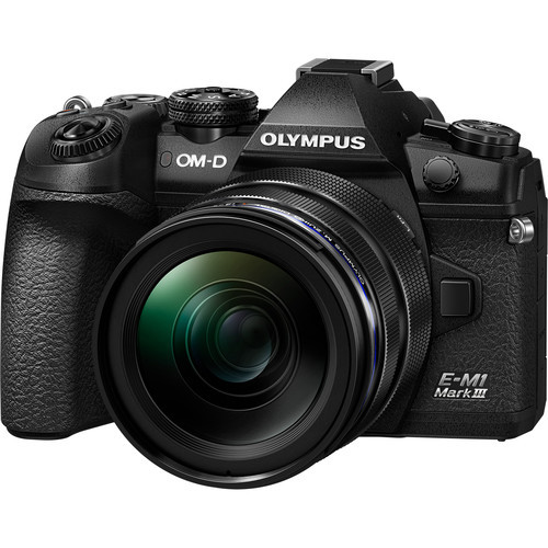 Olympus OM-D E-M1 Mark III Mirrorless Digital Camera with 12-40mm Lens (ACE62094)