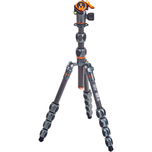 3 Legged Thing Leo 2.0 Tripod Kit with AirHed Pro Lever Ball Head (Gray) (ACE62161)