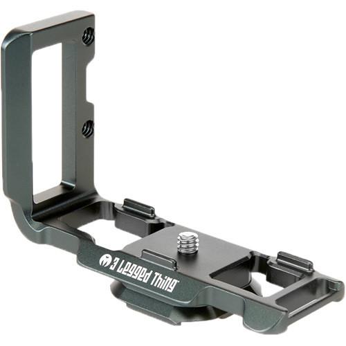 3 Legged Thing ZAYLA PD L-Bracket for Nikon Z 50 (Metallic Slate Gray) (ACE62410)