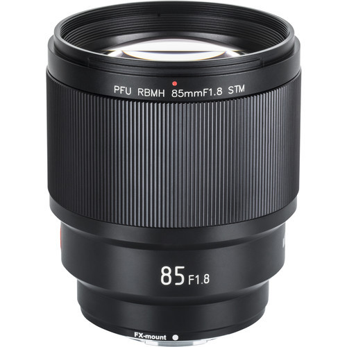 Viltrox 85mm f/1.8 autofocus STM PFU RBMH lens Fuji X-mount (ACE62531)
