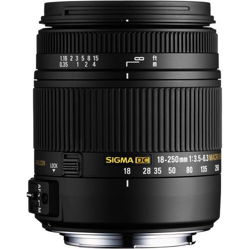 Pre18-250mm f/3.5-6.3 DC Macro HSM For Sony/Minolta