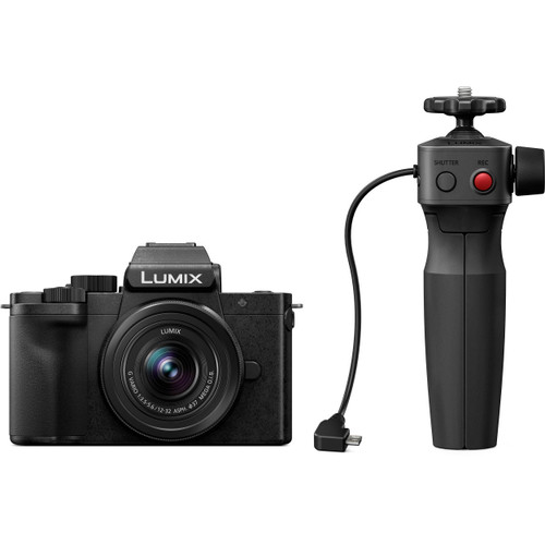 Panasonic Lumix DC-G100 Mirrorless Digital Camera with 12-32mm Lens and Tripod Grip Kit (ACE62702)