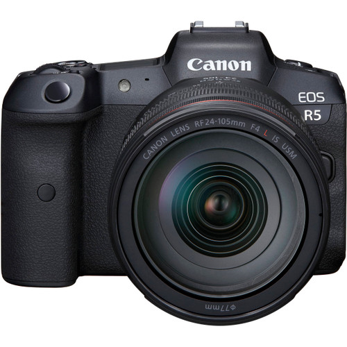 CANON R - Canon EOS R5 Mirrorless Digital Camera with 24-105mm f/4L Lens (ACE62748)