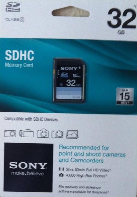 32GB SDHC Class 100 22Mbs