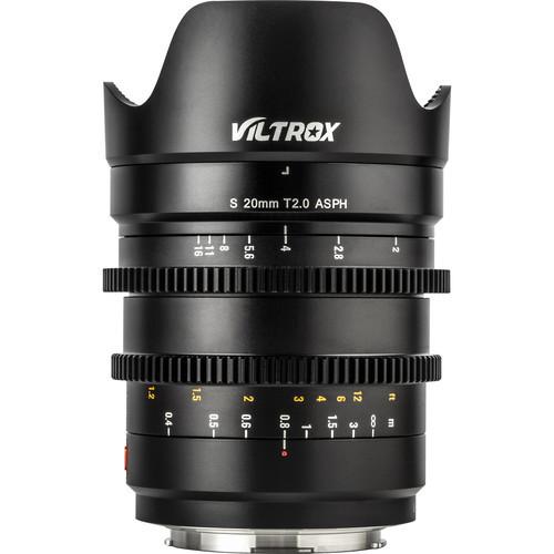 Viltrox S 20mm T2.0 Cine Lens for Panasonic/Leica L-Mount (ACE63057)