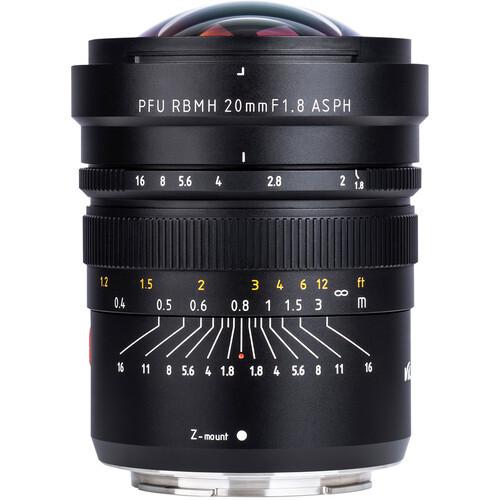 20mm f/1.8 ASPH PFU RBMH Lens for Nikon Z