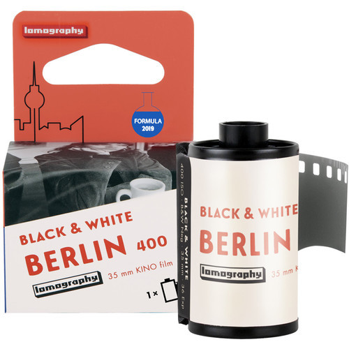Lomography Berlin Kino 400 Black and White Negative Film (35mm Roll Film, 36 Exposures) (ACE63086)