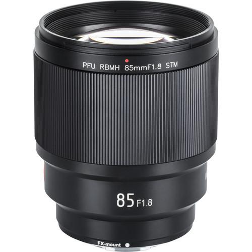 Vilreox 85mm f/1.8 AF II STM PFU RBMH Lens for Fuji X (ACE63214)