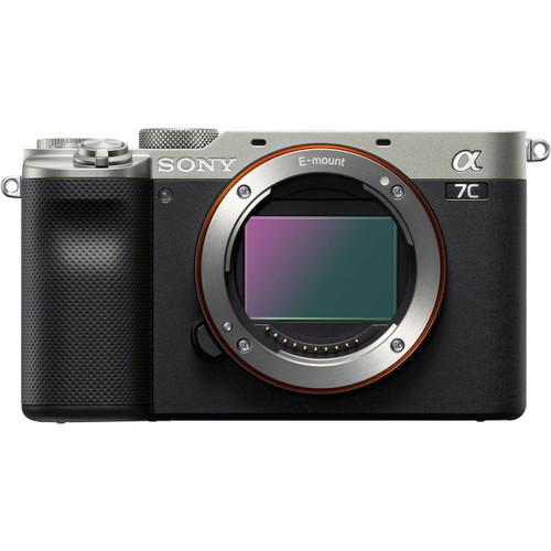 Sony Alpha a7C Mirrorless Digital Camera, Silver (ACE63222)