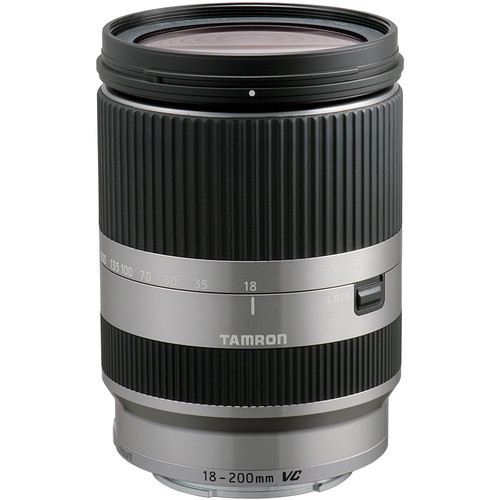 18-200 F/3.5-6.3 Di III VC Lens For Sony (Silver)