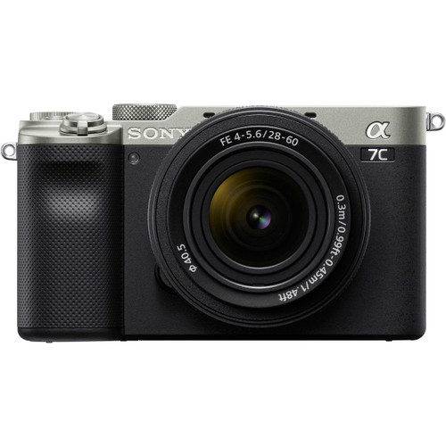 Sony Alpha a7C Mirrorless Digital Camera with FE 28-60mm f/4-5.6 Lens, Silver (ACE63224)