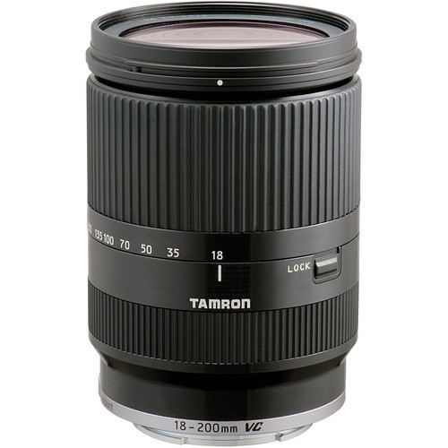 Tamron 18-200 F/3.5-6.3 Di III VC Lens For Sony E mount(Blk)