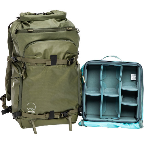 Shimoda Designs Action X30 Backpack Starter Kit with Medium Mirrorless Core Unit Version 2 (Army Green) (ACE63237)